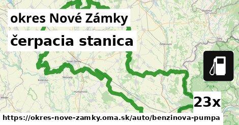 ilustračný obrázok k čerpacia stanica, okres Nové Zámky