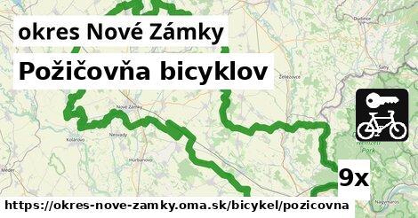 ilustračný obrázok k Požičovňa bicyklov, okres Nové Zámky