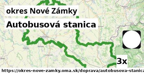 ilustračný obrázok k Autobusová stanica, okres Nové Zámky