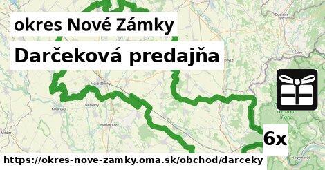 ilustračný obrázok k Darčeková predajňa, okres Nové Zámky