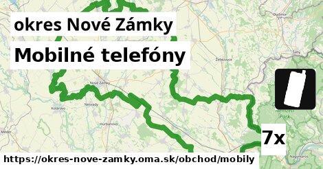 ilustračný obrázok k Mobilné telefóny, okres Nové Zámky