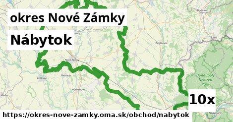 ilustračný obrázok k Nábytok, okres Nové Zámky