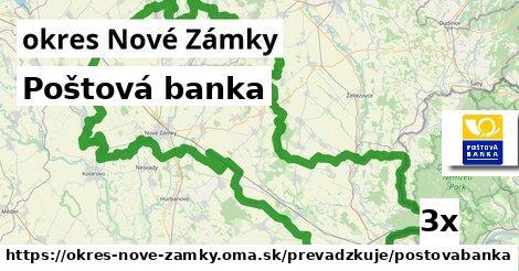 ilustračný obrázok k Poštová banka, okres Nové Zámky