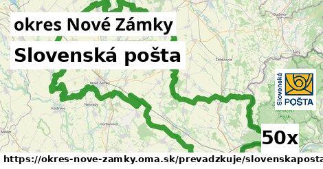 ilustračný obrázok k Slovenská pošta, okres Nové Zámky