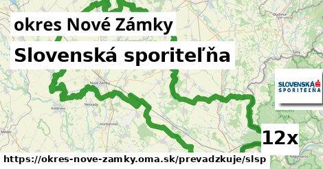 ilustračný obrázok k Slovenská sporiteľňa, okres Nové Zámky