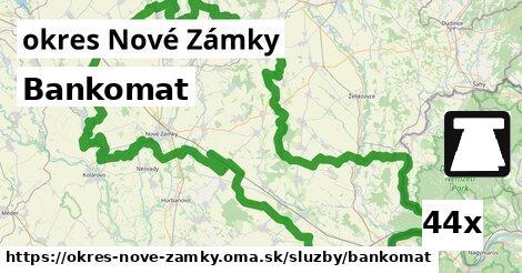 ilustračný obrázok k Bankomat, okres Nové Zámky