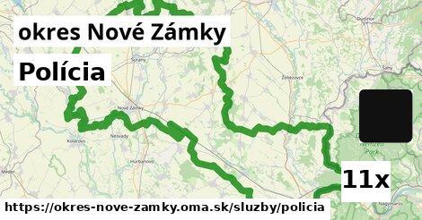 ilustračný obrázok k Polícia, okres Nové Zámky