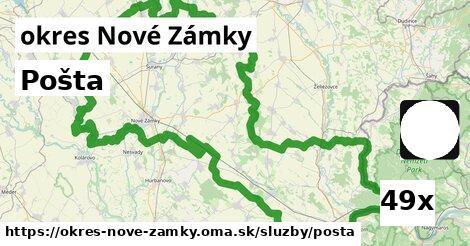 ilustračný obrázok k Pošta, okres Nové Zámky