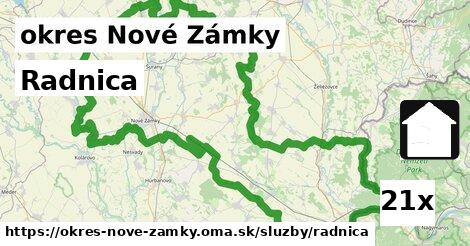 ilustračný obrázok k Radnica, okres Nové Zámky