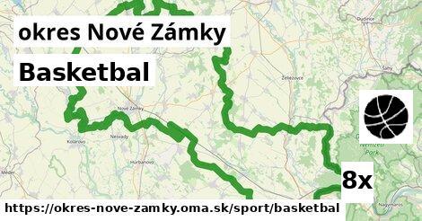 ilustračný obrázok k Basketbal, okres Nové Zámky