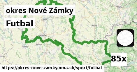 ilustračný obrázok k Futbal, okres Nové Zámky