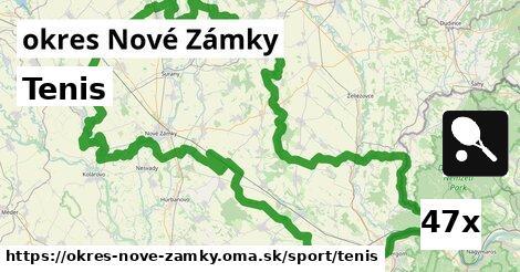 ilustračný obrázok k Tenis, okres Nové Zámky