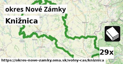 ilustračný obrázok k Knižnica, okres Nové Zámky