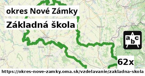ilustračný obrázok k Základná škola, okres Nové Zámky