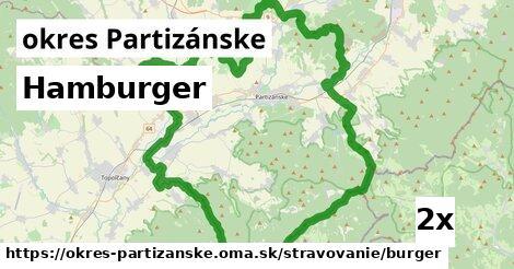 ilustračný obrázok k Hamburger, okres Partizánske