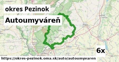 ilustračný obrázok k Autoumyváreň, okres Pezinok