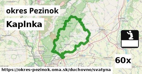ilustračný obrázok k Kaplnka, okres Pezinok