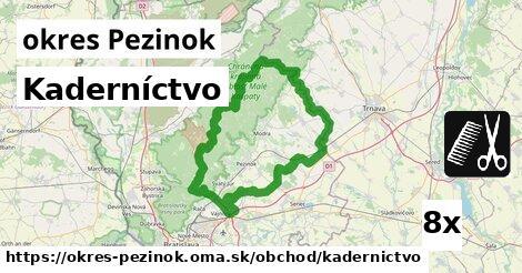 ilustračný obrázok k Kaderníctvo, okres Pezinok