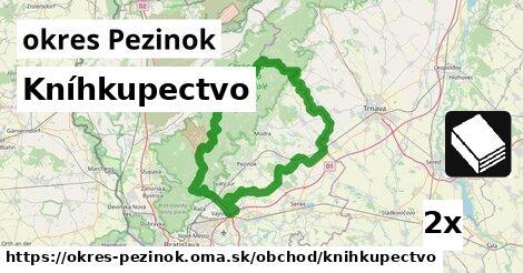 ilustračný obrázok k Kníhkupectvo, okres Pezinok