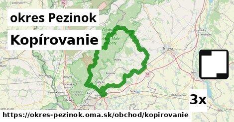 ilustračný obrázok k Kopírovanie, okres Pezinok