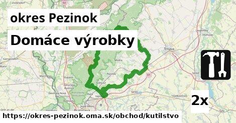 ilustračný obrázok k Domáce výrobky, okres Pezinok