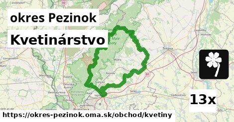 ilustračný obrázok k Kvetinárstvo, okres Pezinok