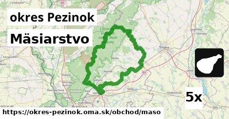 ilustračný obrázok k Mäsiarstvo, okres Pezinok