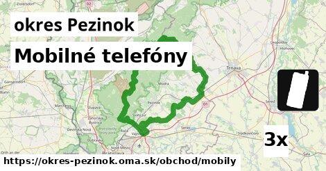 ilustračný obrázok k Mobilné telefóny, okres Pezinok