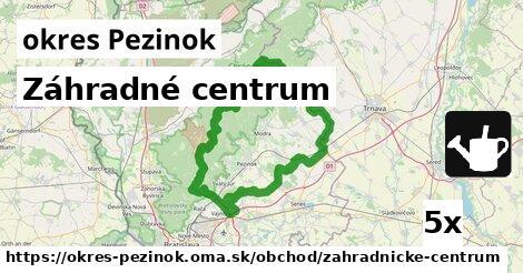 ilustračný obrázok k Záhradné centrum, okres Pezinok