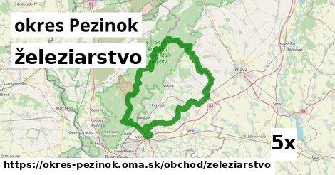 ilustračný obrázok k železiarstvo, okres Pezinok