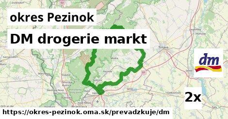 ilustračný obrázok k DM drogerie markt, okres Pezinok