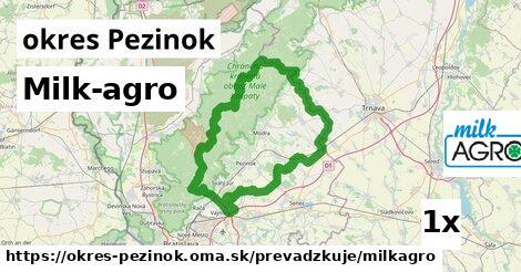 ilustračný obrázok k Milk-agro, okres Pezinok