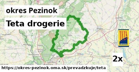 ilustračný obrázok k Teta drogerie, okres Pezinok