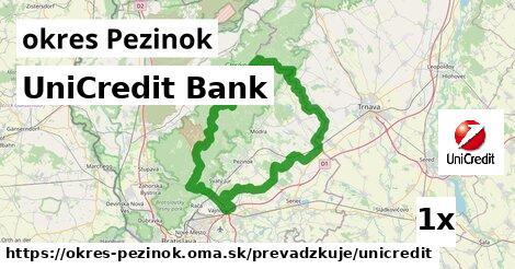 ilustračný obrázok k UniCredit Bank, okres Pezinok