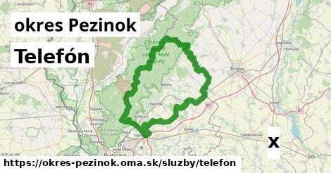 ilustračný obrázok k Telefón, okres Pezinok
