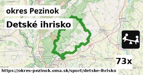 ilustračný obrázok k Detské ihrisko, okres Pezinok