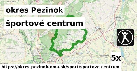 ilustračný obrázok k športové centrum, okres Pezinok