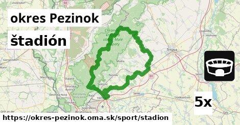 ilustračný obrázok k štadión, okres Pezinok