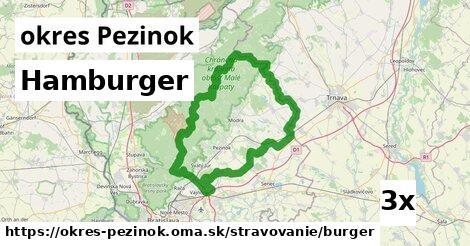 ilustračný obrázok k Hamburger, okres Pezinok