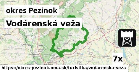 ilustračný obrázok k Vodárenská veža, okres Pezinok