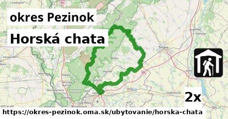 horská chata v okres Pezinok