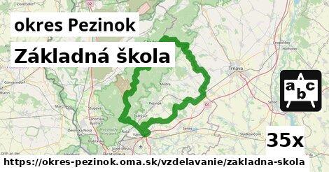 ilustračný obrázok k Základná škola, okres Pezinok