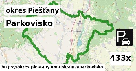 ilustračný obrázok k Parkovisko, okres Piešťany