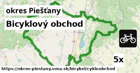 bicyklový obchod v okres Piešťany