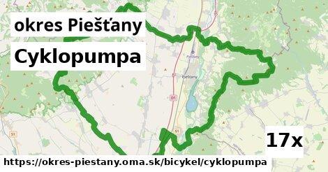 ilustračný obrázok k Cyklopumpa, okres Piešťany