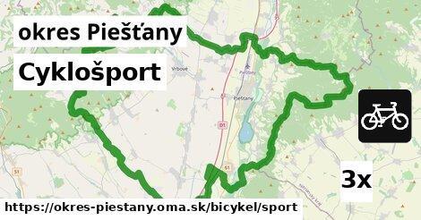 ilustračný obrázok k Cyklošport, okres Piešťany