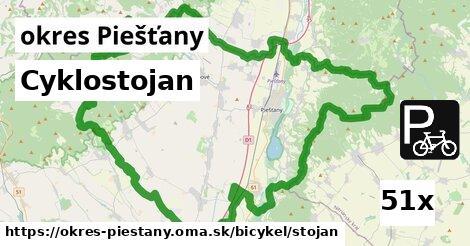 cyklostojan v okres Piešťany