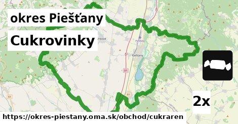ilustračný obrázok k Cukrovinky, okres Piešťany