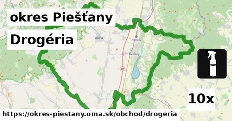 ilustračný obrázok k Drogéria, okres Piešťany