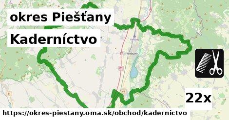 ilustračný obrázok k Kaderníctvo, okres Piešťany